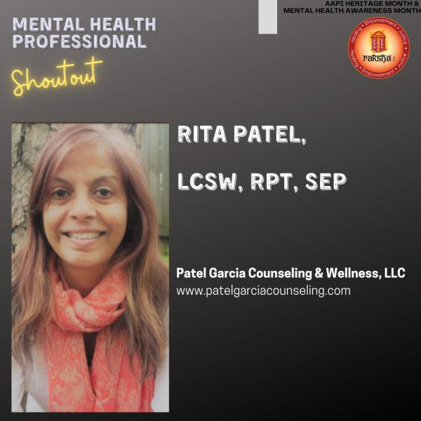 Rita Patel,  LCSW, RPT, SEP