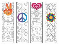 Bookmarks for coloring